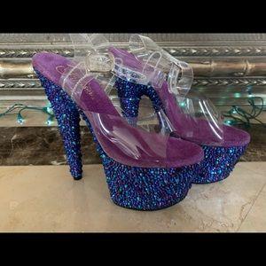 Stunning Bejeweled Heels